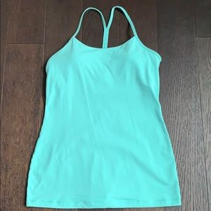 Lululemon Pose Pose Tank - Washed Marsh